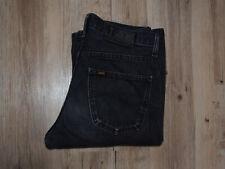 VINTAGE Lee Denver Flare/ Bootcut Jeans W31 L34 SCHWARZ/ GRAU BLACK AGED L507
