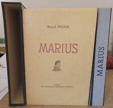 MARCEL PAGNOL MARIUS ILLUSTRE PAR DUBOUT EO LIMITEE à 1024 EX 1946 FOURNIER