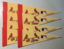 (8) St. Louis Cardinals Mini Pennants New - Cream Color Cardinals lot only