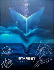 STARSET Vessels 2017 Ltd Ed RARE Hand Signed By All 4 Lithograph Poster!