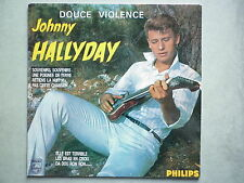 Johnny Hallyday 33Tours vinyle Douce Violence pressage club dial