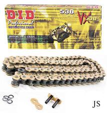 Suzuki SV1000 S-K3,K4,K5,K6,K7 2003-07 DID GOLD VX X-Ring Chain /& Sprocket Kit