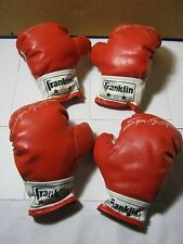 Franklin Sugar Ray Leonard Child Size or Small Boxing Gloves 1791 1792