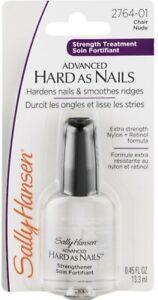 Sally Hansen Advanced Hard as Nails Strength Treatment #2764-01 Nude (3 PACK)