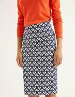 Boden Rock - Richmond Pencil Skirt - Bleistiftrock Elegant Stretch UK 8 EU 36
