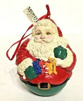 Midwest Importers Of Cannon Falls Roly Poly Santa Claus Christmas Ornament Vtg