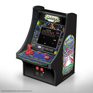 """My Arcade Galaga Micro Player - 6.75"""" Collectible Retro Arcade Machine"""