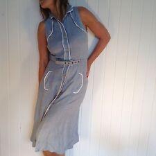 Lovely Maxmara Abito Donna Vintage Taglia UK 10 RRP 265