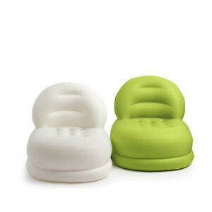 Intex Inflatable Sofa PVC Foldable Air Lazy Couch Seat Blow Up Chair Two Colours