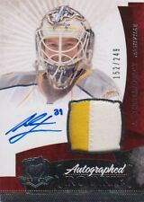 10-11 The Cup ROOKIE JERSEY AUTO xx/249 Made! Anders LINDBACK #152 - Predators