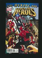 Age of Heroes #1, Greg Tocchini Cover, High Grade