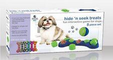 Pet Dog Supplies Toys Treat Interactive Resist Fun Toys Food Dispenser Feeder UK