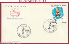 ITALIA FDC CAVALLINO '90 PARTECIPAZIONI ESTERE CAMPIONE MONDO 1982 1989 U575