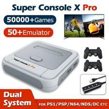 Super Console X Pro 256Go Jeux Vidéo Rétro Gaming WIFI 4K +50000 Jeux Inclus