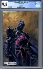 Dark Nights: Death Metal #5   David Finch Variant  Batman  1st Print  CGC 9.8