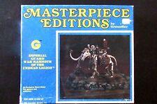 OOP Grenadier Models Masterpiece Editions War Mammoth Of The Undead Legions BNIB