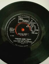 Diana Ross and the Supremes Forever came today  Rare motown 45 EX