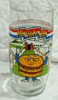 Real Nice McDonald's MC Vote 86 Promo Character Glasses From 1986