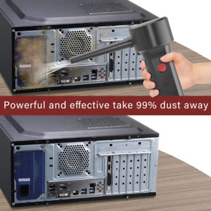 Compressed Air can for computers Dust Cleaner for PC Keyboard Crumbs Electric Ai