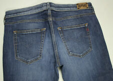 EUC - RRP $299 - Womens Stunning Replay 'RADELL W442A.000.247 650' Indigo Jeans