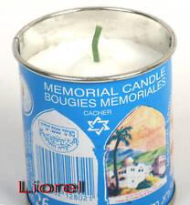 Jewish Memorial Candle Kaddish Yizkor Yahrzeit 24h Shomer Shabbat Factory Israel