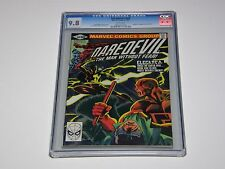 Daredevil #168 GC 9.8 White Pages Origin &1st appearance Elektra by Frank Miller