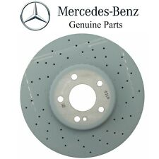 Mercedes W205 C300 Front Left or Right Drilled Vented Disc Brake Rotor Genuine