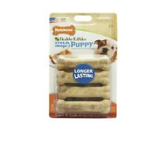 NYLABONE Puppy Lamb & Apple for Puppy - 8 ct - Highly Digestible Gluten Free