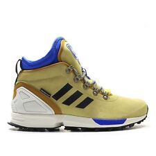 Mens Adidas Originals ZX Flux Winter Running Shoes Size 8 Sand Tan White S82930