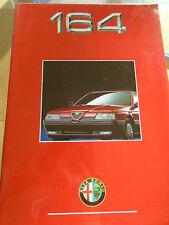 Alfa Romeo 164 brochure c1994 ref 9203-2067