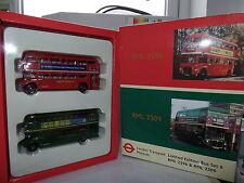 EFE 99917 Routemaster RML Bus Set 6 London Transport Museum Route 409 & 411 MIB