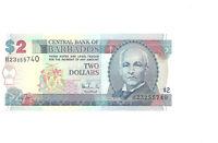 Barbados  2 Dollars  1998  P. 54  UNC