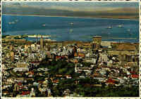 Postkarte Südafrika ~1970 Kapstadt Cape Town City Centre Harbour South Africa