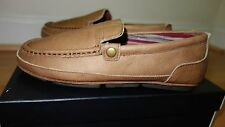 NEW L.B.EVANS FINN LEATHER BROWN MEN'S SHOES sz. 8 EEE 3E