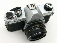 Pentax K1000 w/ Pentax-M or Pentax-A 1:2.0 50mm Lens Good Working and Cosmetics
