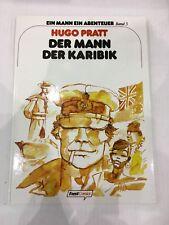 DER MANN DER KARIBIK HUGO PRATT Feest Comics numerato firmato 520/777 signierte
