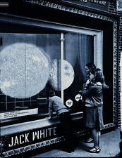 Jack White 2012 Eugene OR Poster Silent Giants Print Stripes Third Man Records