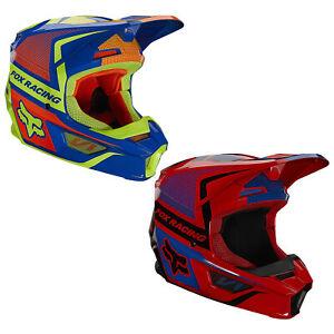 Fox Racing V1 Oktiv Riding Helmet Lightweight Polycarbonate ECE DOT Motocross
