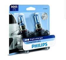 Headlight Bulb-CrystalVision Ultra - Twin Blister Pack Philips 9005CVB2