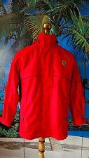 SCUDERIA FERRARI authentic men's red jacket coat M