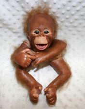 Reborn Kit pintado y arraigados chimpancé