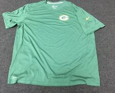 Green Bay Packers Nike Legend Staff SS T-shirt Green 4XL XXXXL 4X