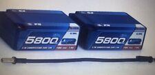 LRP 5800 mAh Saddle P5 LiPo CCL Hardcase LRP 430240 110C/55C 7.4V LiPo Akku Asso