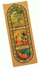 Song of India Temple Incense Sticks 50 Stick Medium Box