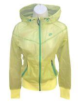 NIKE Sportswear NSW Women's Super Light Windrunner Inspired Rain Jacket Yellow S
