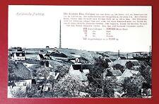 AK HALSBRÜCKE bei Freiberg um 1910 Hohe Esse und Ortsansicht mit Textfeld( 29850