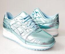 ASICS Women's GEL-Lyte III Retro Running Shoe Size 7.5 B (US) Light Blue