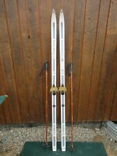 """Ready to Use Cross Country 70"""" ROSSIGNOL 180 cm Skis With Poles"""