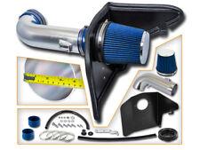 BCP BLUE 2010 2011 2012 2013 2014 Camaro 6.2L V8 Heat Shield Cold Air Intake Kit