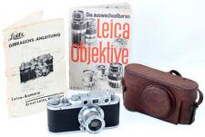 Leica II No.272366 mit Elmar f=5cm 1:3,5 No. 344092 Ernst Leitz Wetzlar RARE !!!
